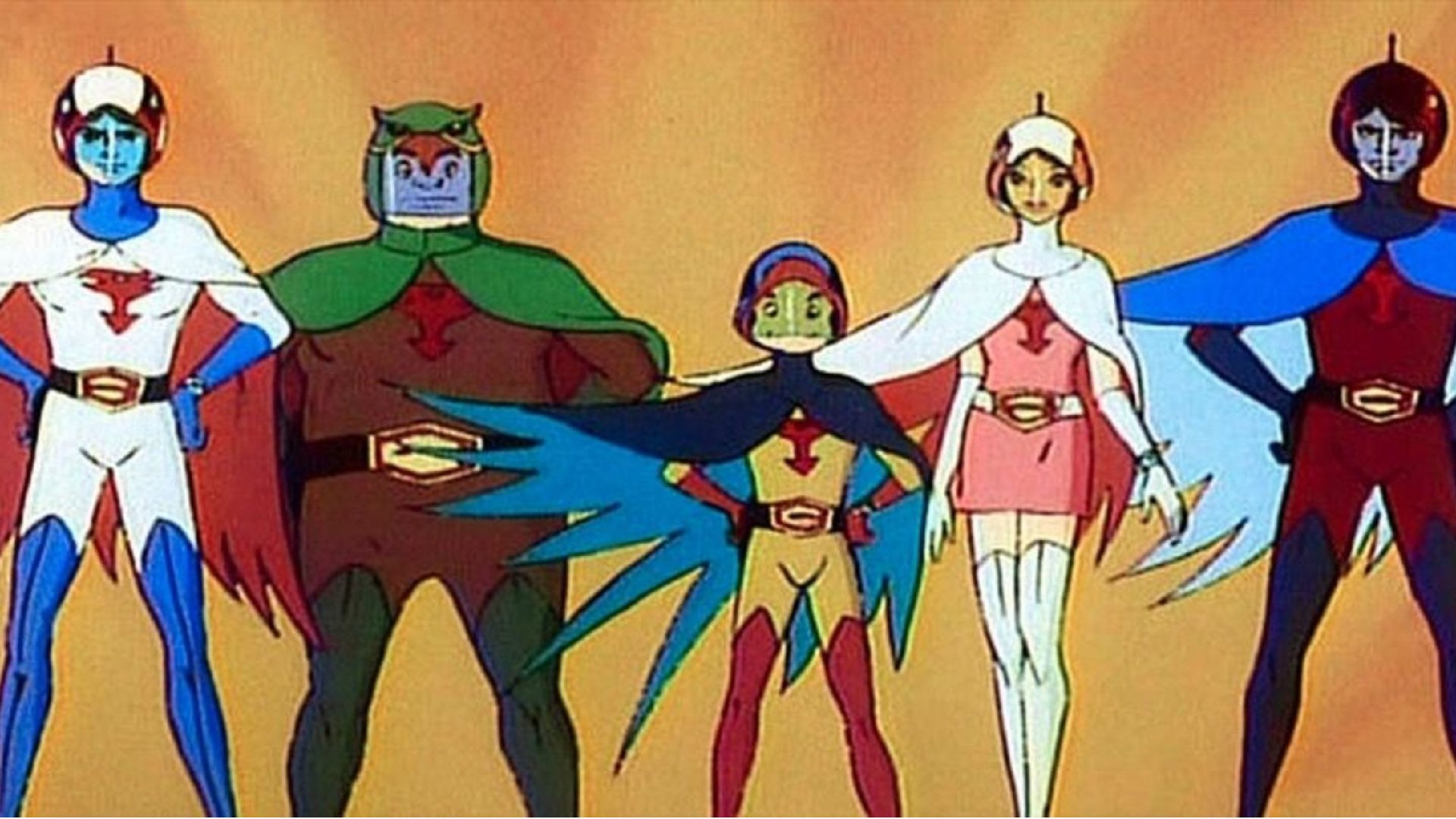 Fuerza G Battle of the Planets Gatchaman